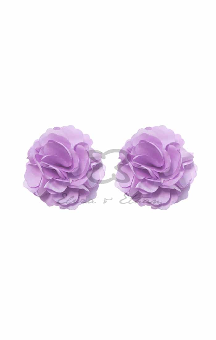 Eliza & Ethan Lavender Flower Clips Alila