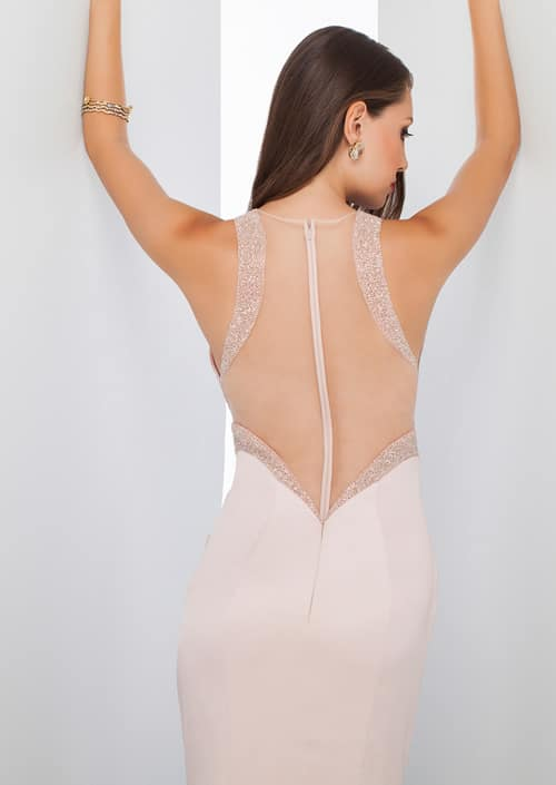 Alila Boutique Pink Satin Gown by Mignon.