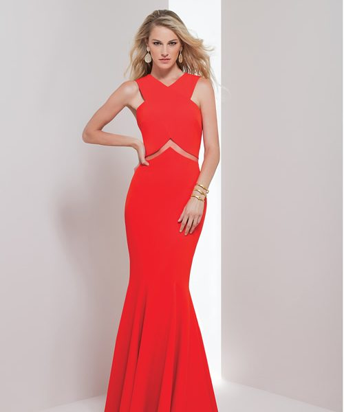Alila Boutique Red Gown by Mignon