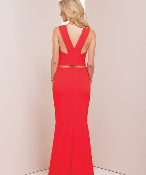 Alila Boutique Red Gown by Mignon.