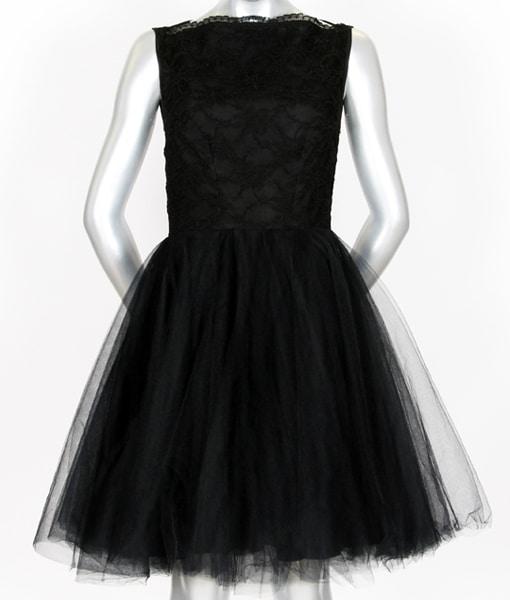 Alila Boutique Black Tutu lace dress By Jones & Jones.