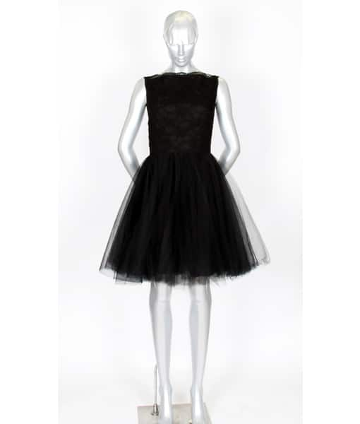 Alila Boutique Black Tutu lace dress By Jones & Jones.