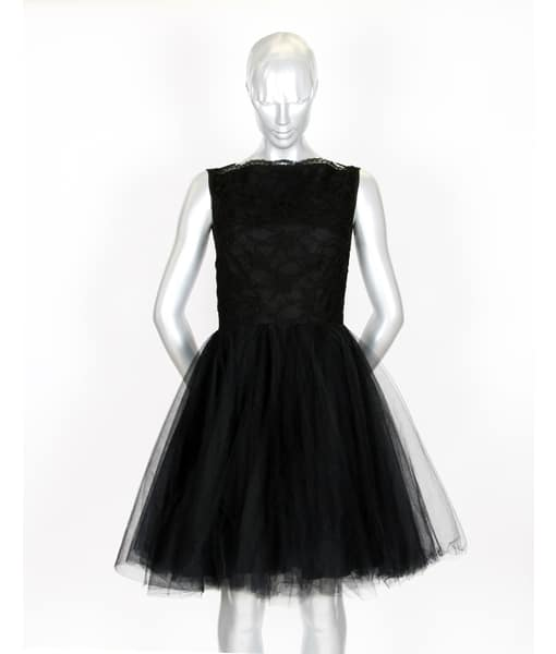Alila Boutique Black Tutu lace dress By Jones & Jones