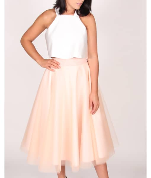Alila Boutique Blush Tutu Skirt By Jones & Jones