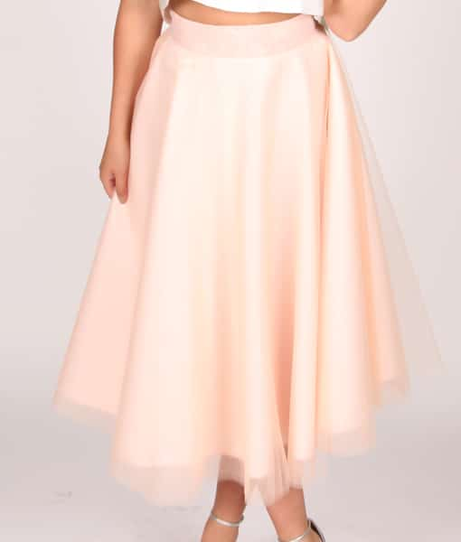 Alila Boutique Blush Tutu Skirt By Jones & Jones.