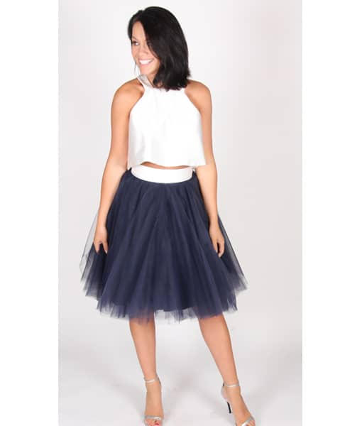 Alila Boutique Navy Tutu Skirt By Jones & Jones.