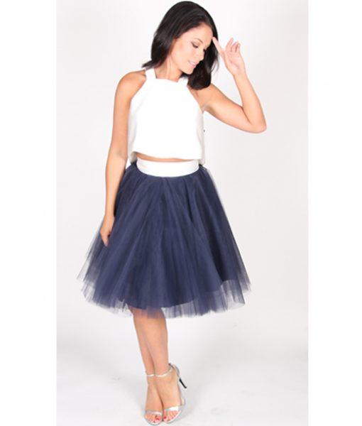 Alila Boutique Navy Tutu Skirt By Jones & Jones