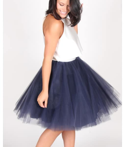 Alila Boutique Navy Tutu Skirt By Jones & Jones