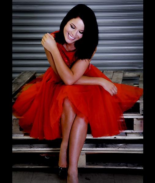Alila Boutique Red Tutu lace dress By Jones & Jones