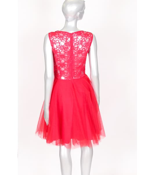 Alila Boutique Red Tutu lace dress By Jones & Jones