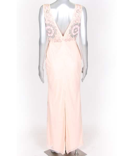 Alila Blush Pink Sequin Gown by Lace & Beads