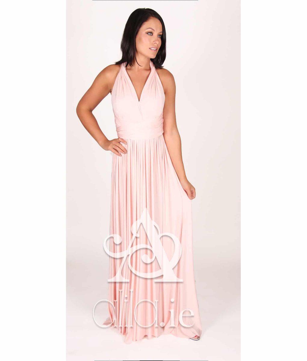 Eliza & Ethan Cherry Blossom Multiwrap Dress Alila