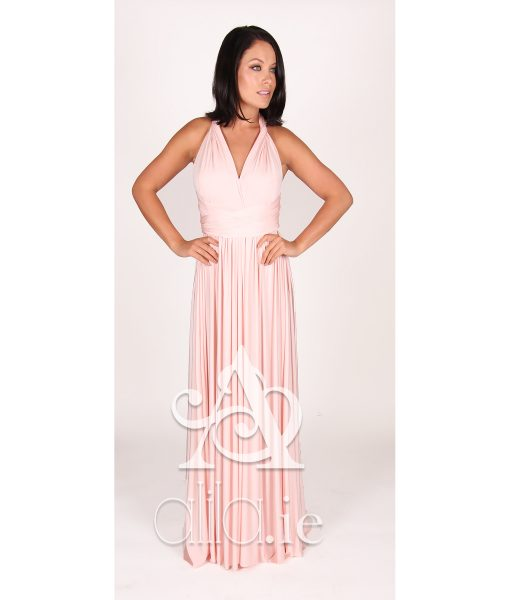 Eliza & Ethan Cherry Blossom Multiwrap Dress Alila