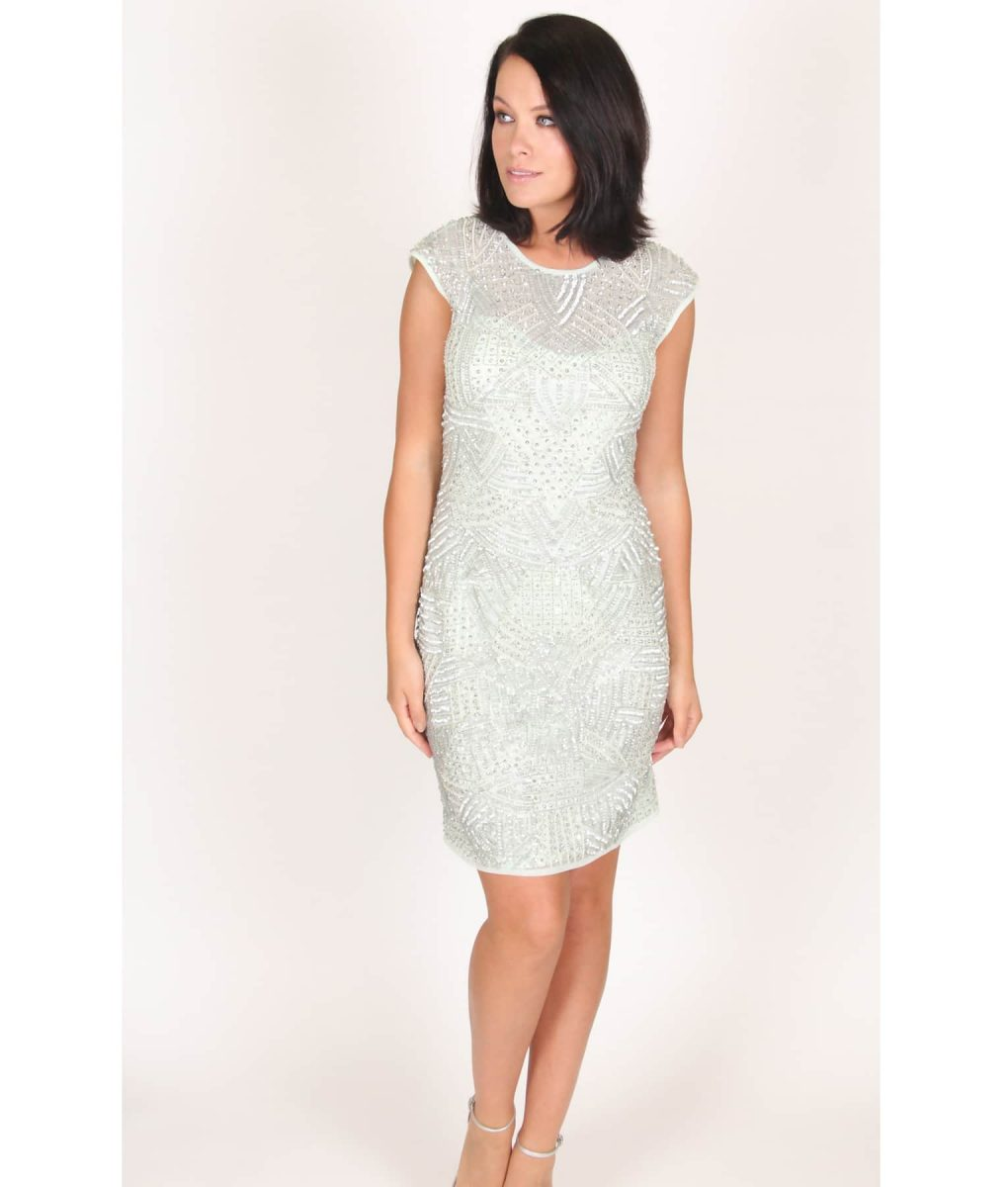 Alila Mint Sequin Party Dress by Lace & Beads