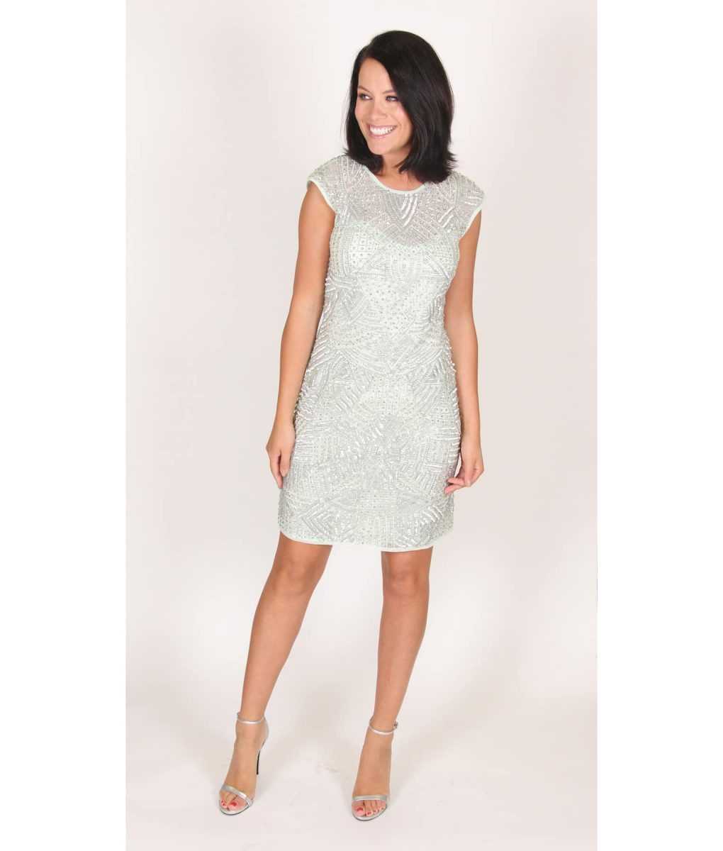 Alila Mint Sequin Party Dress by Lace & Beads.
