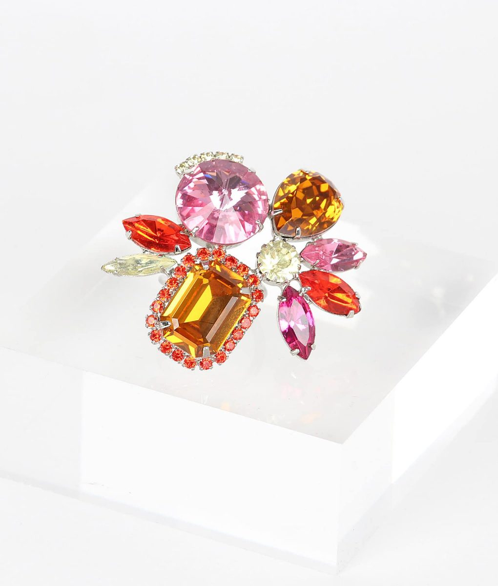 Alila Boutique Pink Tone Crystal Ring
