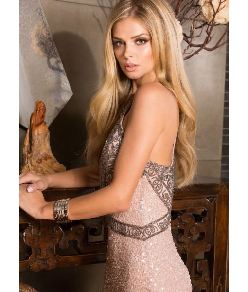 Alila Boutique Rose Sequin Gown by Scala