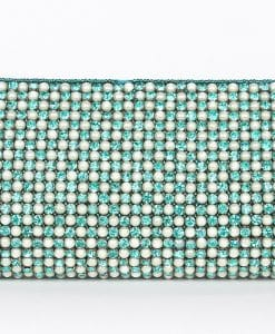 Turquoise Pearl Clutch