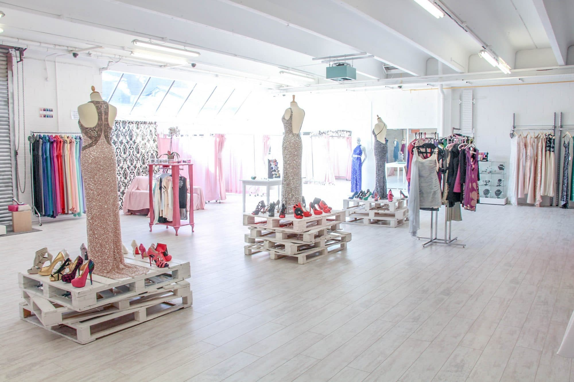 Our fabulous new showroom alila our new showroom just outside dublin city centre allows you and your bridal party to view and try on these amazing bridesmaid dresses and our in house eliza ombrellifo Choice Image