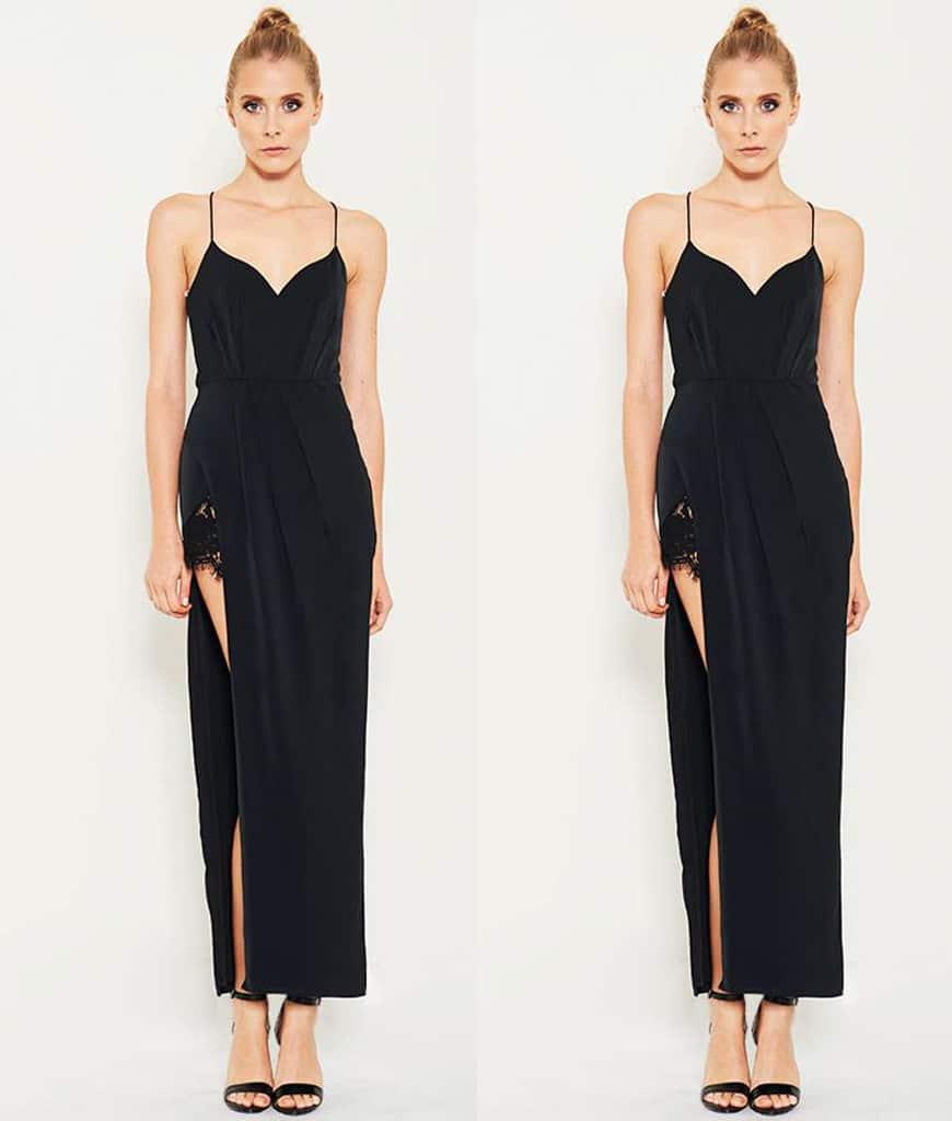 lumier-black-dress-with-slit-lace-web