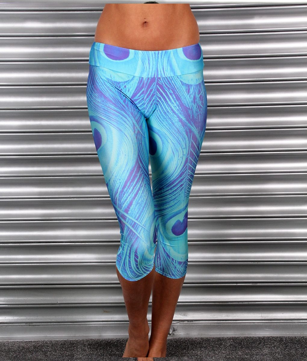 Alila Active Peacock Print Capris by Mr Gugu