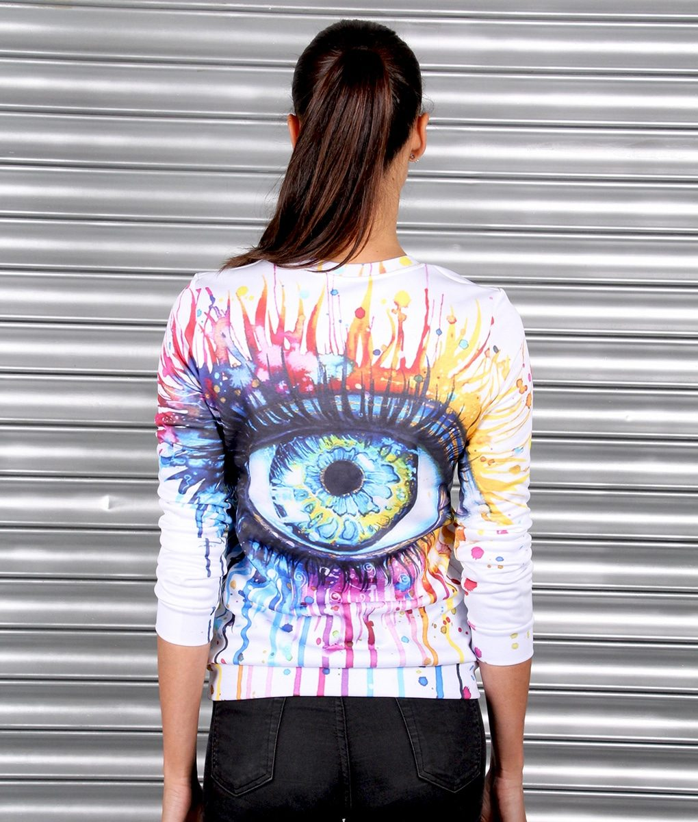 Alila Active Eye Print Sweater