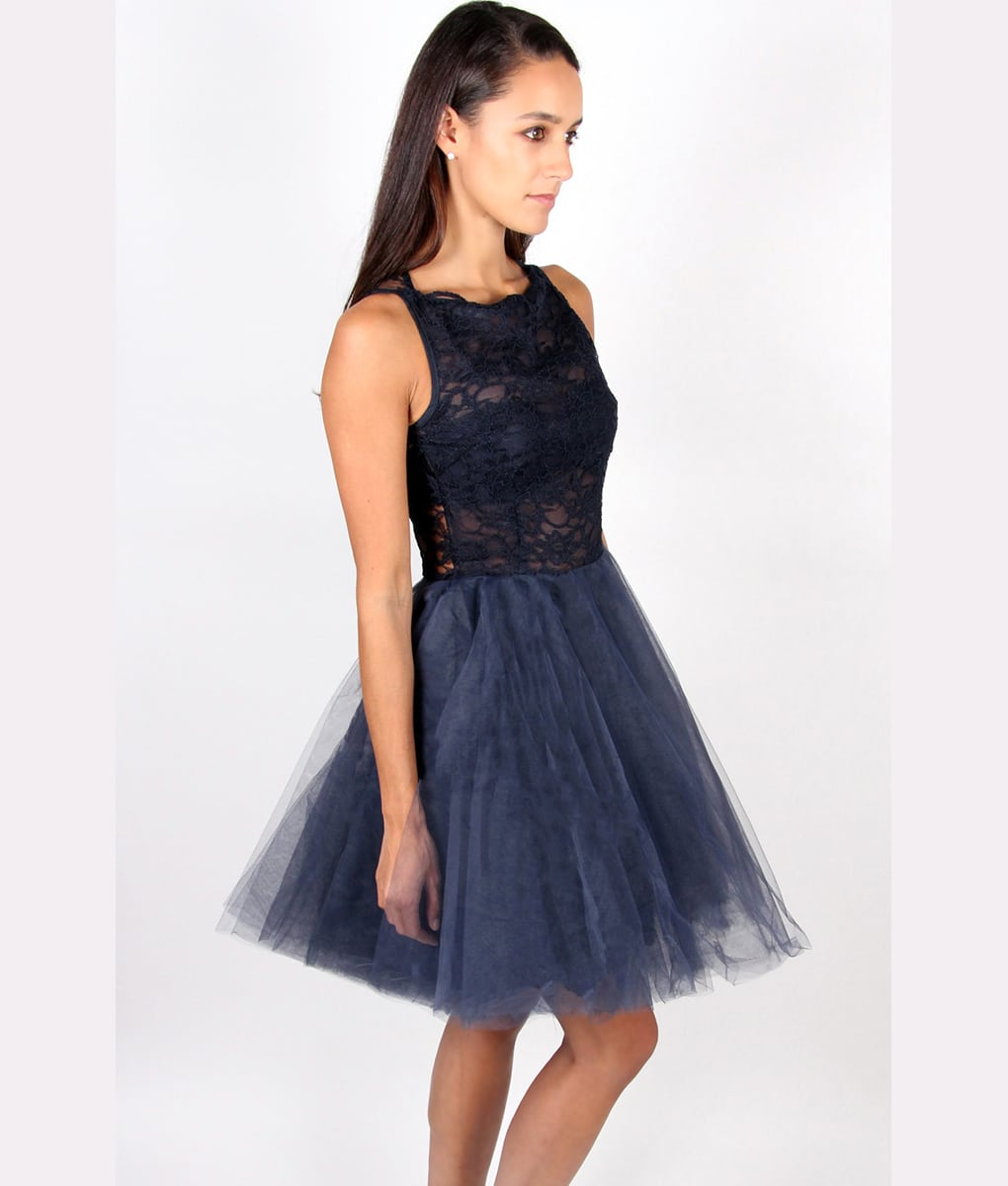 Alila Navy Tutu Dress by Jones & Jones