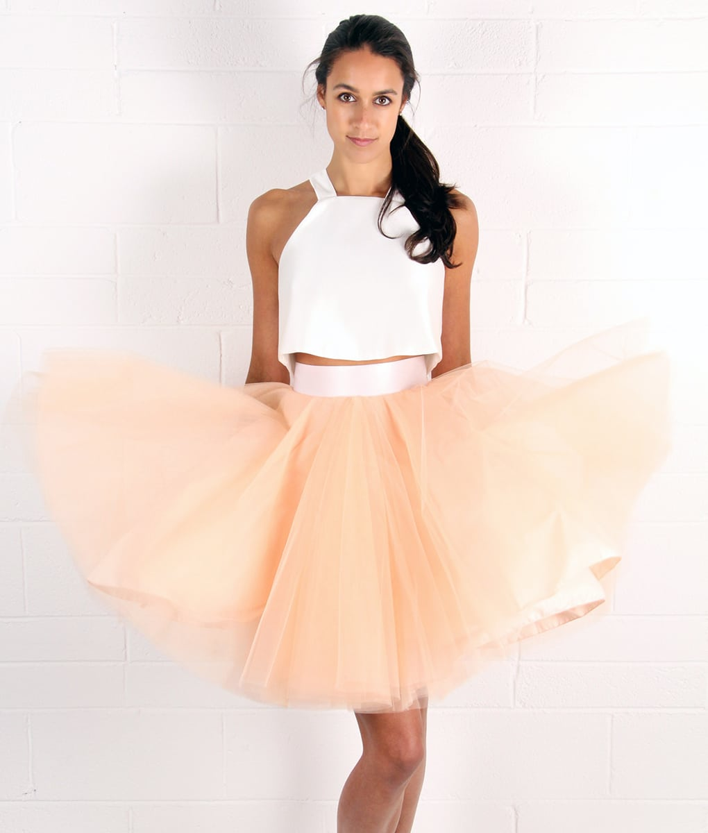 Alila Peach Tulle Tutu Skirt by Jones & Jones