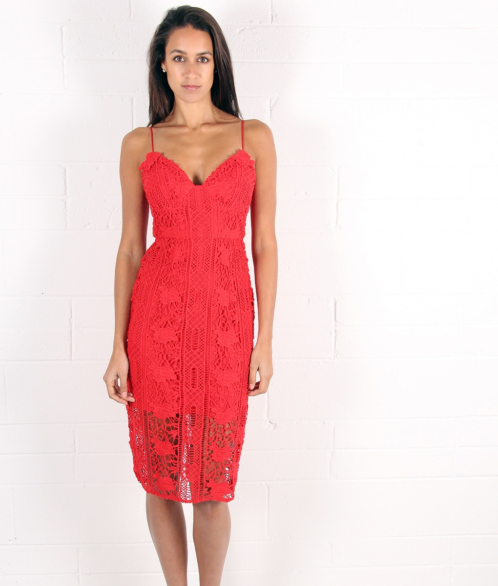alila-red-crochet-dress-for-wedding-by-lumier-by-bariano-front