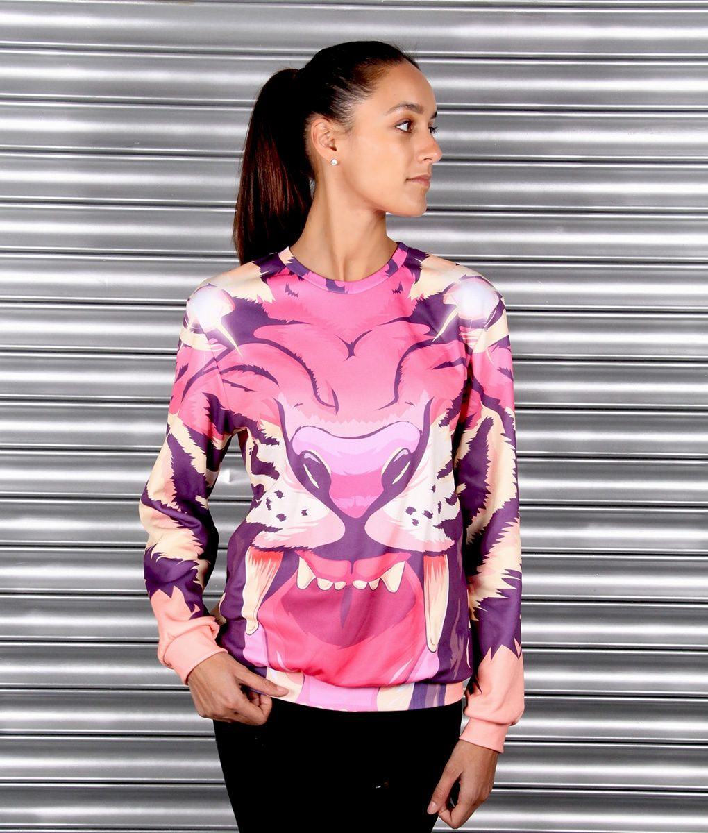 Alila Active Tiger Print Sweater