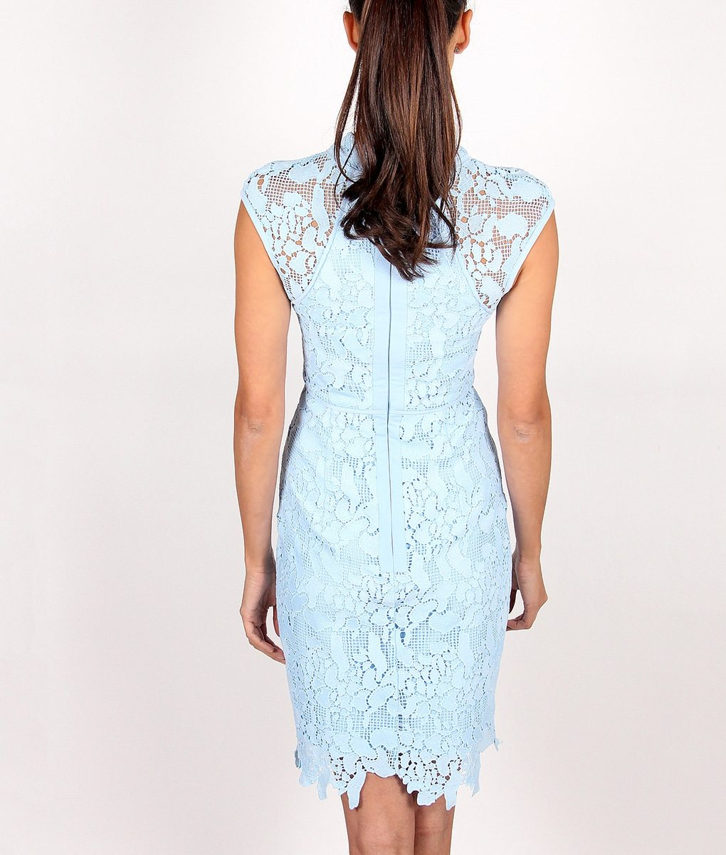 Alila-Sky-Blue-Fitted-Lace-Dress-for-wedding-by-Lumier-by-Bariano