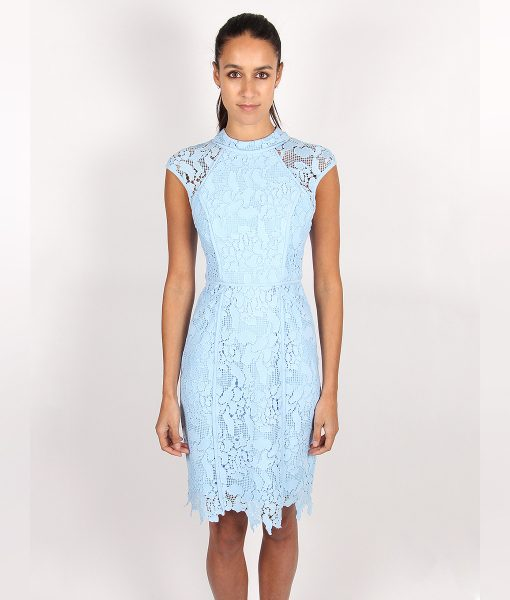 Alila-Light-Blue-Fitted-Lace-Dress-for-wedding-by-Lumier-by-Bariano