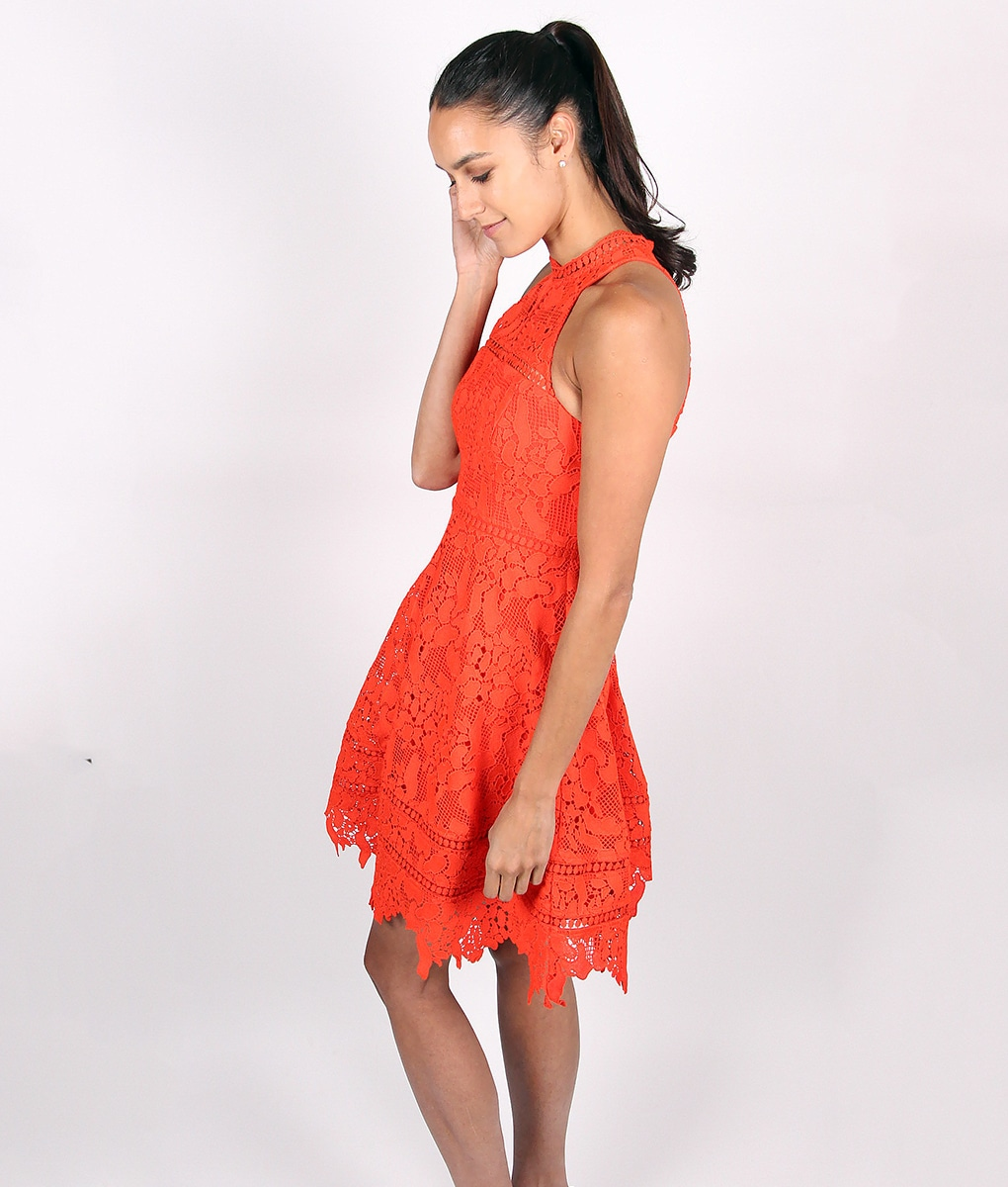 Alila-Red-Lace-Crochet-Dress-by-Lumier-by-Bariano-side