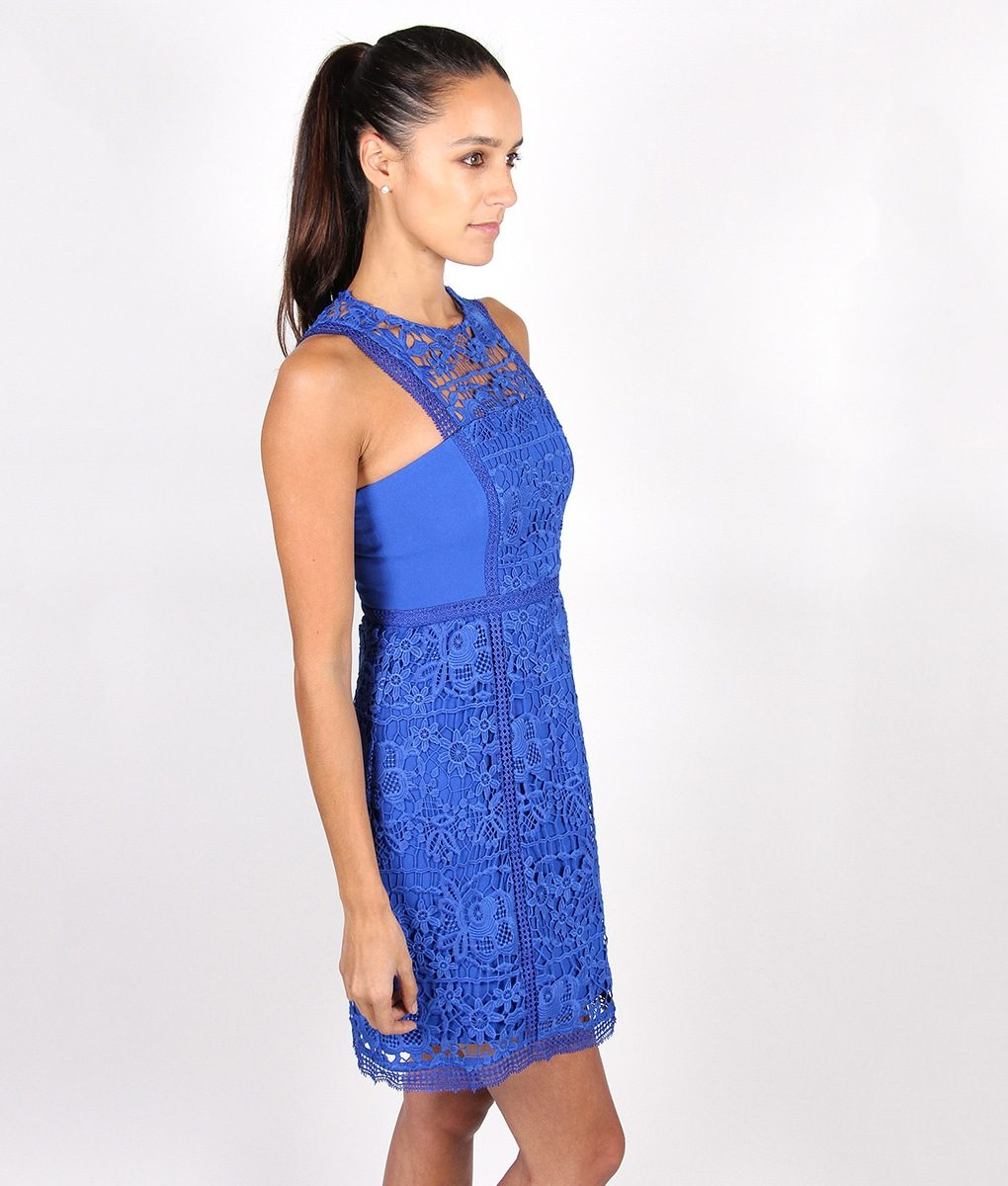 Alila-Sapphire-Blue-Lace-Dress-for-wedding-by-Lumier-by-Bariano-side