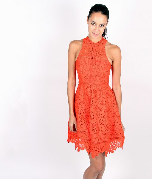 Alila-Tomatoe-Red-Lace-Crochet-Dress-by-Lumier-by-Bariano-2