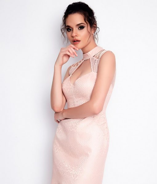 Alila-Blush-Pink-Lace-dress-for-wedding-Setre