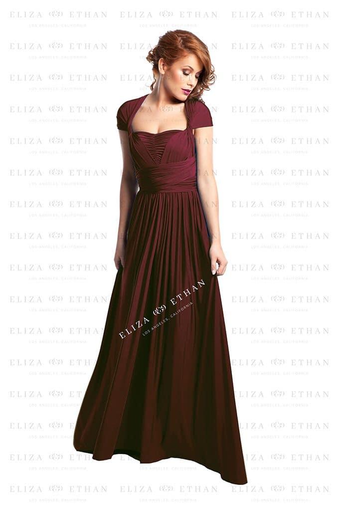 Alila-Burgudy-Multwrap-Dress-Eliza-and-Ethan