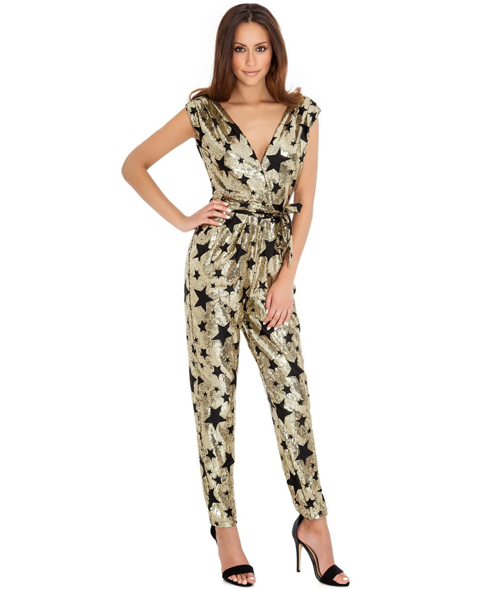 City Goddess - Star Sequins Jumpsuit
