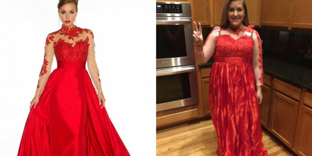 Prom dress disaster