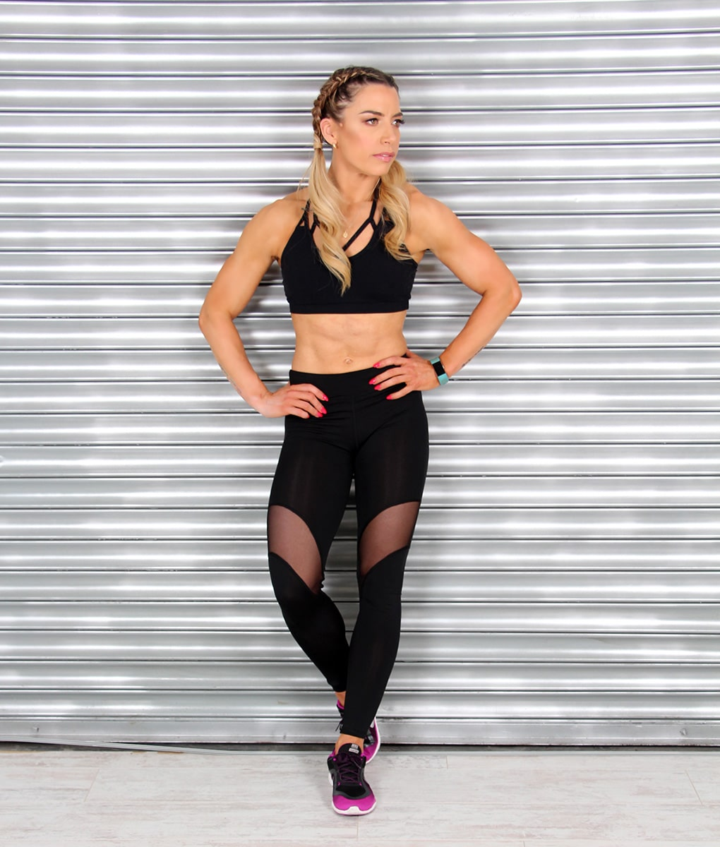 Alila-Active-Black-Tulle-Leggings-front2