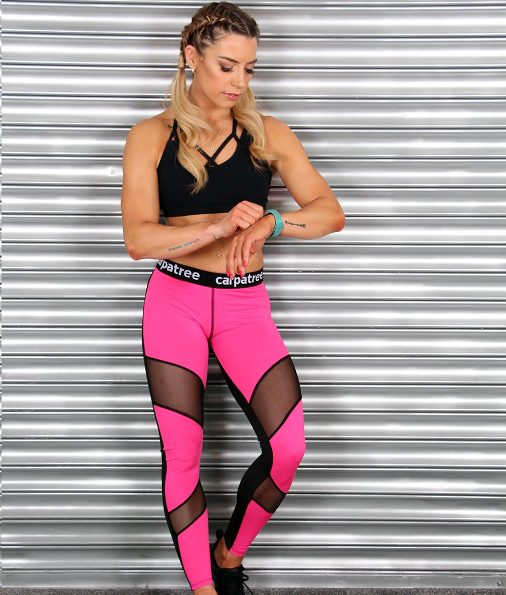 Alila-Active-Hot-Pink-Double-Mesh-Gym-Leggings-Mr-Gugu-HIIT-workout