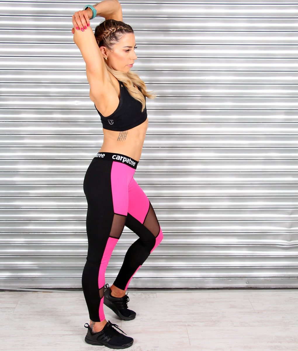 Alila-Active-Hot-Pink-Double-Mesh-SQUAT-PROOF-Gym-Leggings-Mr-Gugu-HIIT-2