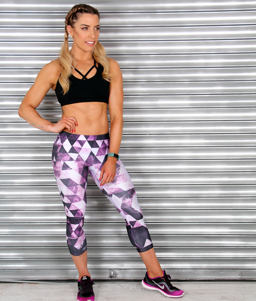 Alila-Active-Purple-black-and-white-cropped-leggings-HIIT