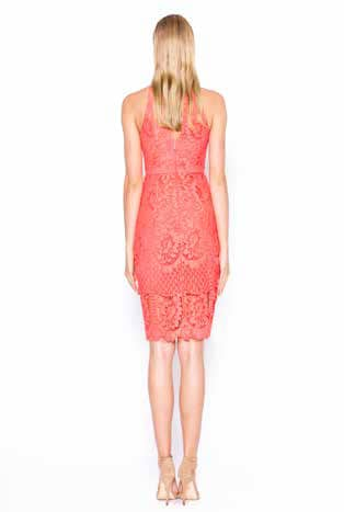 Alila-Coral-Lace-High-Neck-midi-dress-FOR-WEDDING-Lumier-Bariano-back