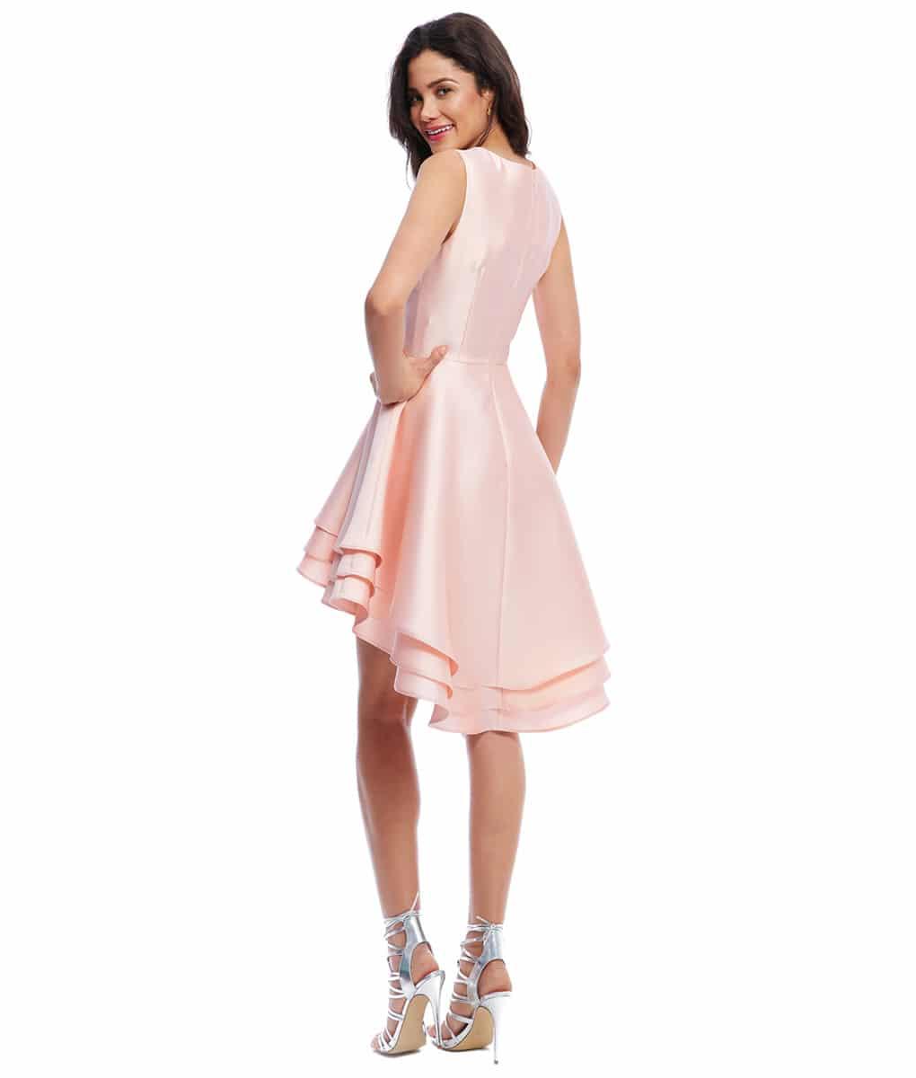 Alila-Pale-pink-hi-lo-bridesmaid-dress-city-goddess