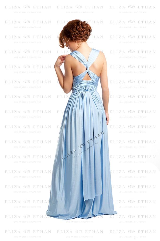 Alila-Baby-Blue-Multiwrap-Dress-Back-Eliza-and-Ethan