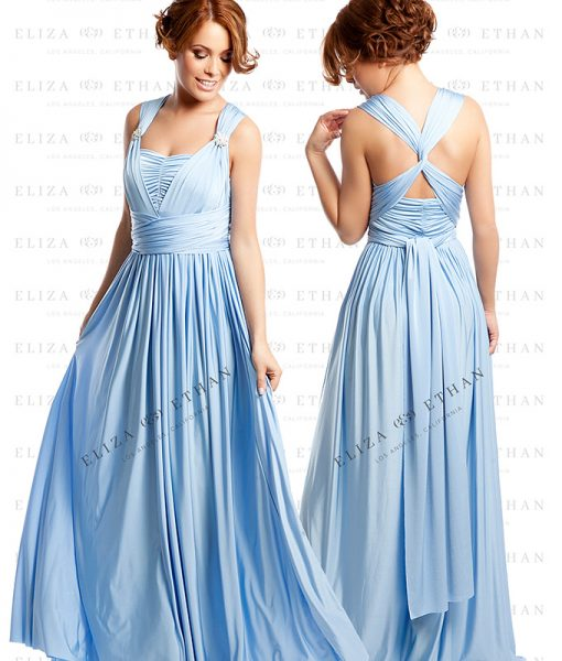 Alila-Baby-Blue-Multiwrap-Dress-Eliza-and-Ethan