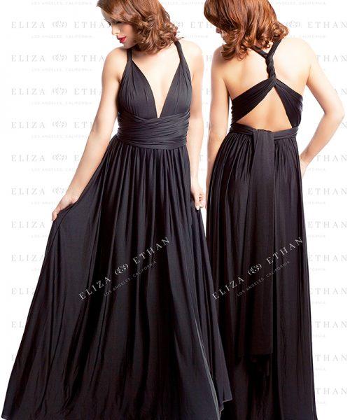 Alila-Black-onyx-Multiwrap-Dress-Eliza-Ethan