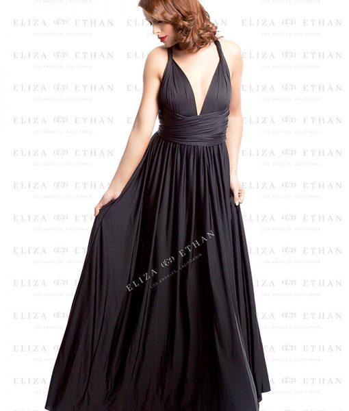 Alila-Black-onyx-Multiwrap-Dress-by-Eliza-Ethan