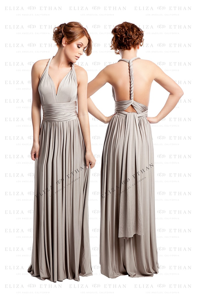 Alila-Champagne-Multiwrap-Dress-by-Eliza-Ethan